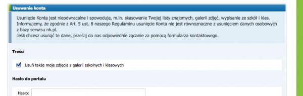 sympatia jak usunąć konto Białystok